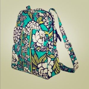 Vera Bradley Backpack in Island Blooms